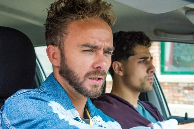 David kidnaps Josh in Coronation Street