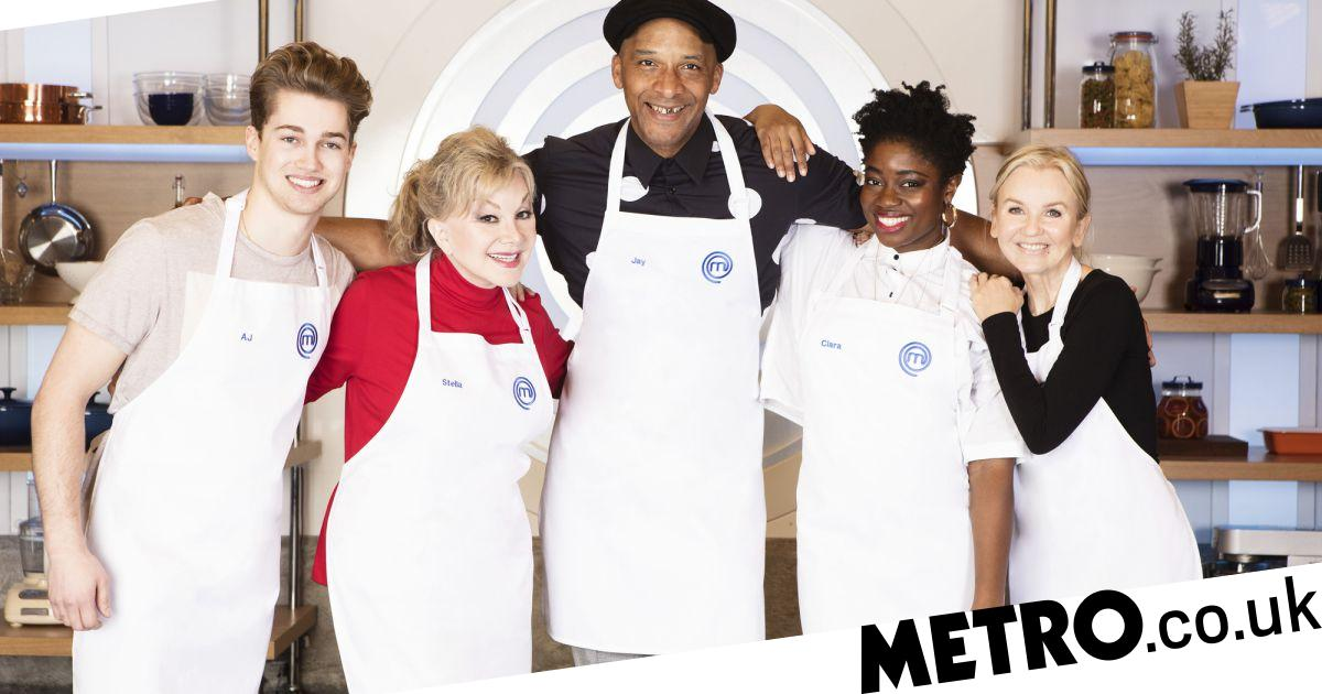 Who is competing in the fourth heat of Celebrity MasterChef 2018?