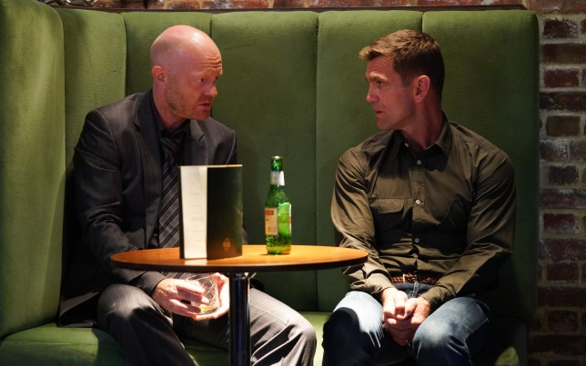 Max and Jack have a heart to heart in EastEnders