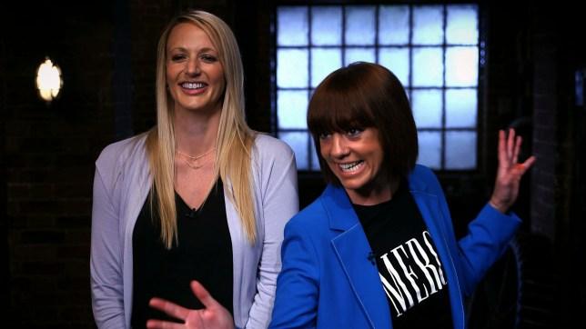 Camilla Brown and Liz Beswick Dragons' Den