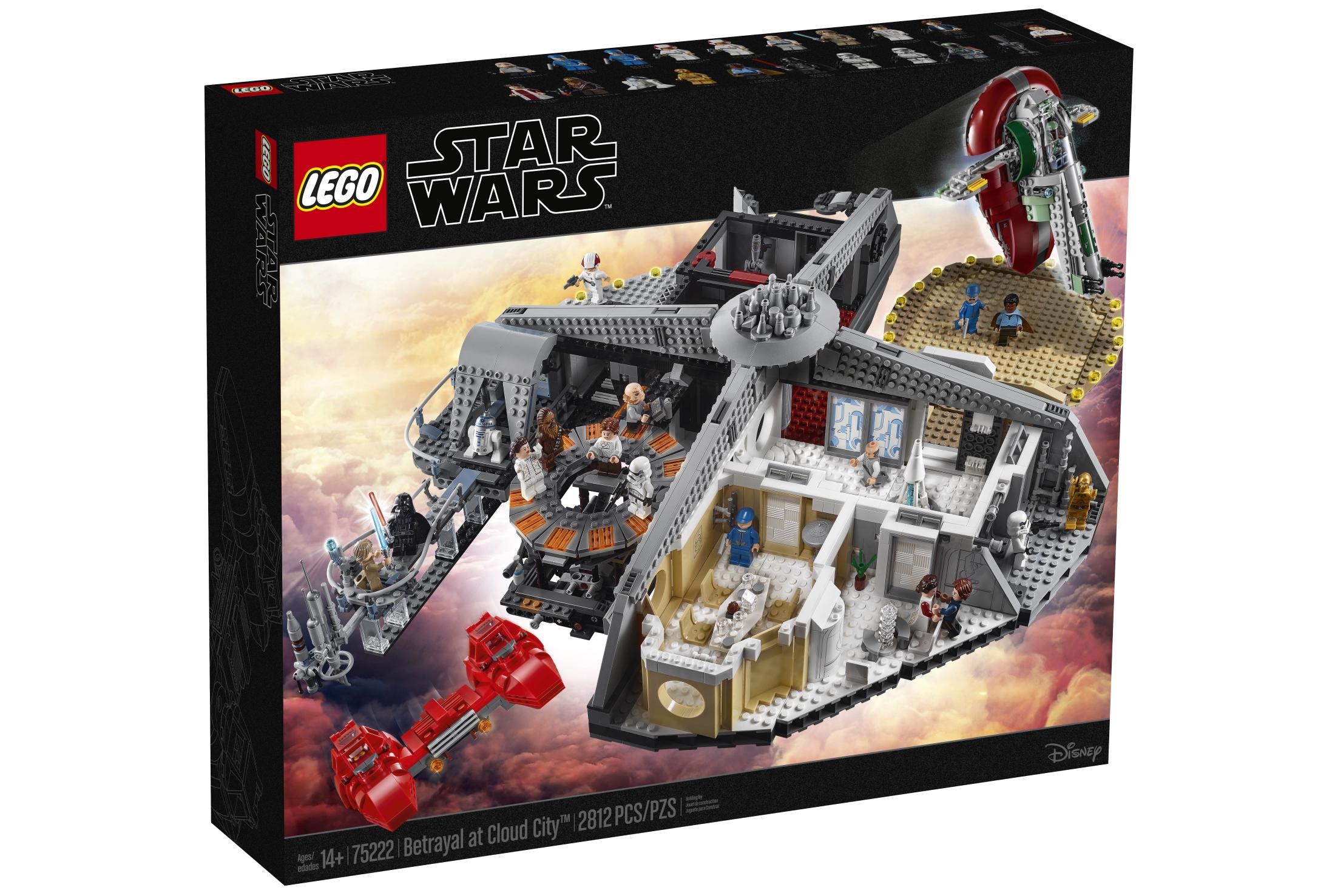 Lego Star Wars Betrayal at Cloud City set is impressive… most impressive