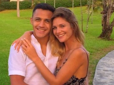 Manchester United forward Alexis Sanchez split with girlfriend Mayte Rodriguez due to 'distance'
