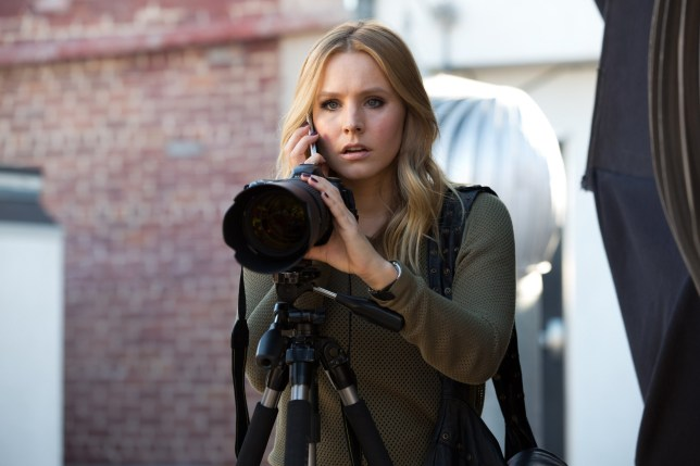Film: Veronica Mars (2014), starring Kristen Bell as Veronica Mars.