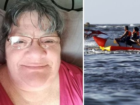 Pictured: Mum who died in front of daughter after getting trapped under banana boat