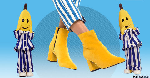 People are enjoying ASOS's Bananas in Pyjamas inspired styling