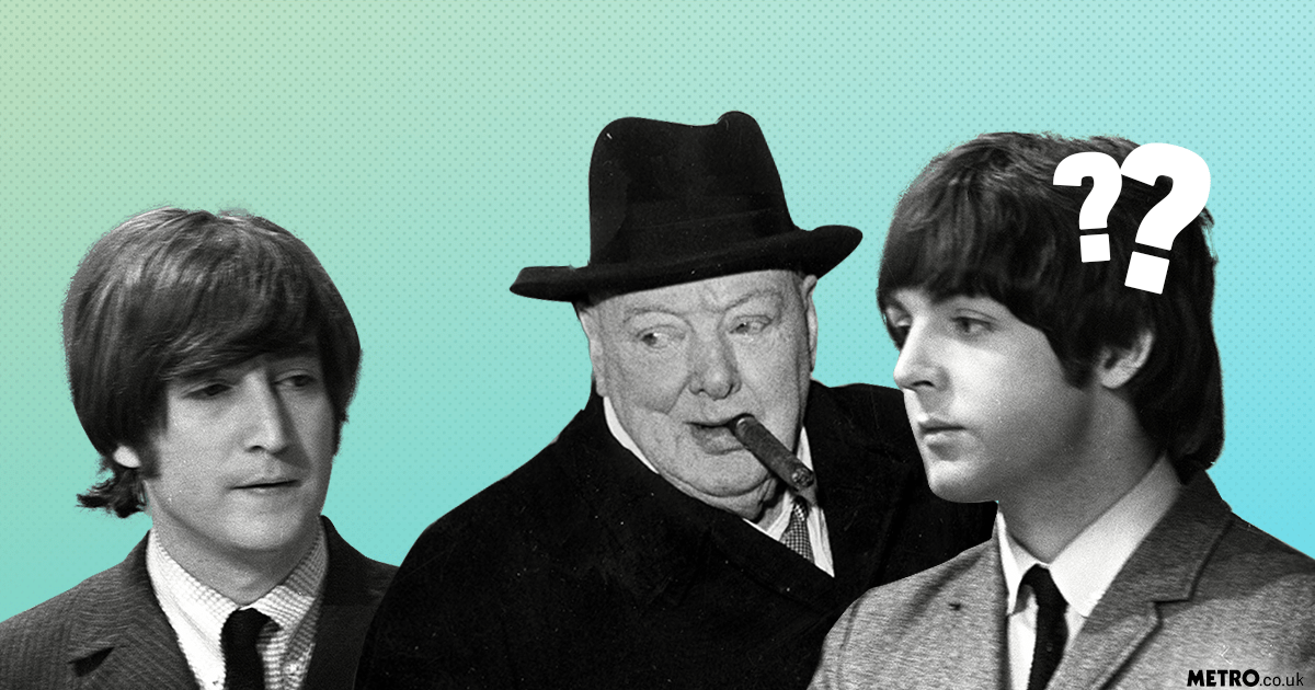 McCartney admits masturbing with The Beatles until someone mentioned Winston Churchill picture: REX