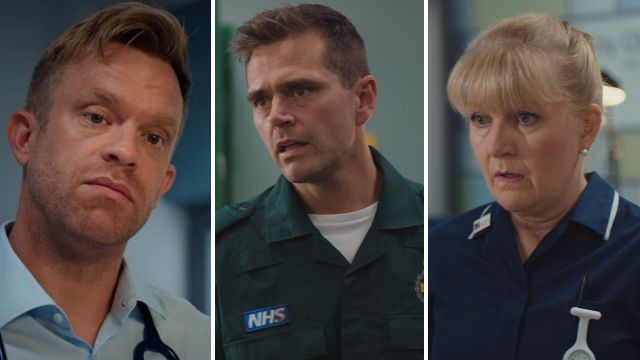 7 Casualty spoilers: Devastating news for Dylan and trouble for Iain