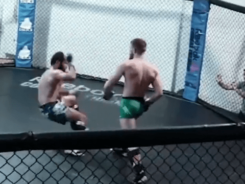 Conor McGregor gives glimpse into training ahead of UFC return