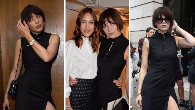 Daisy Lowe shows support for Alexa Chung's LFW debut after she admitted she's 'always under scrutiny'