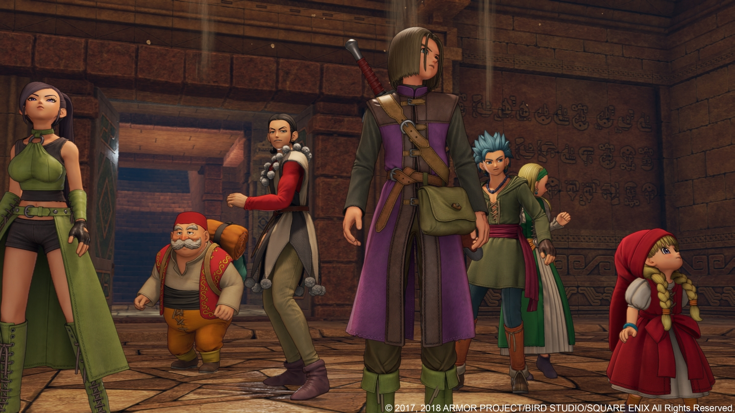 Dragon Quest XI (PS4) - the Werther's Original of JRPGs