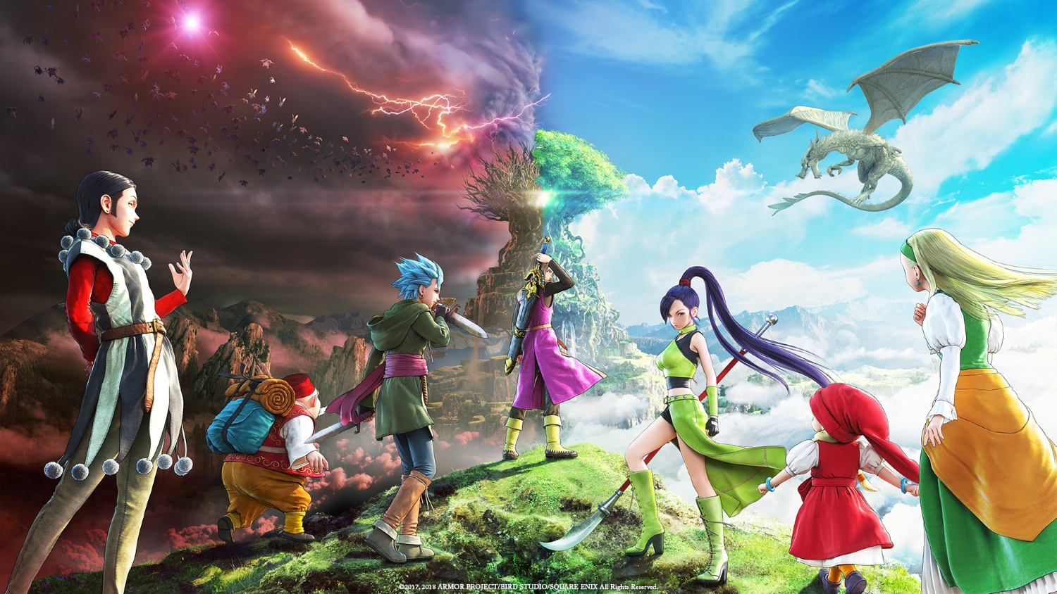 Dragon Quest XI review – pretty old-fashioned