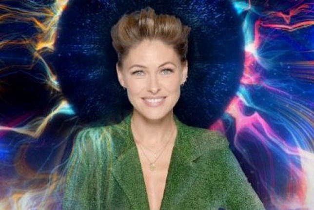 Emma Willis on Big Brother eye