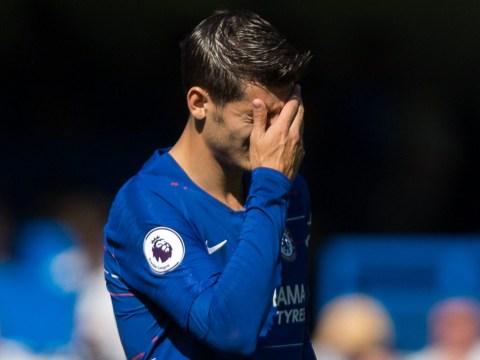 David Luiz gives advice to struggling Chelsea star Alvaro Morata