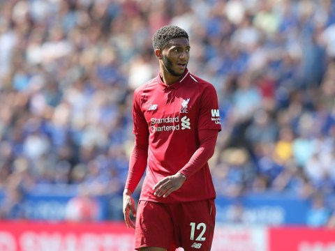 Liverpool's Joe Gomez names the Manchester United legend he idolises