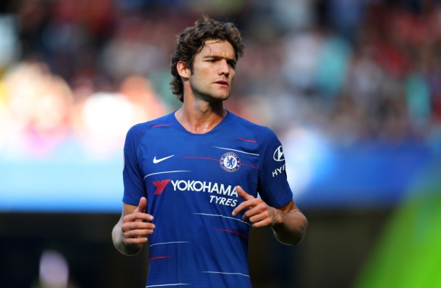 pretty nice 6a6f1 42122 Chelsea news: Marcos Alonso speaks out on Real Madrid ...