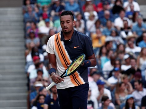 Umpire Mohamed Lahyani suspended for Nick Kyrgios pep talk