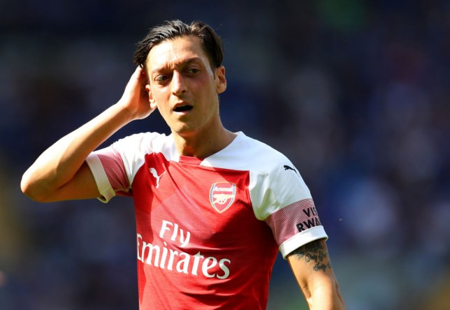 30f61c16c Arsenal news  Mesut Ozil picks his dream Arsenal and Real Madrid 5-a ...