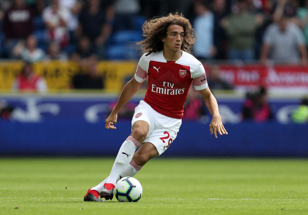 Matteo Guendouzi names the two legends he hopes to emulate at Arsenal