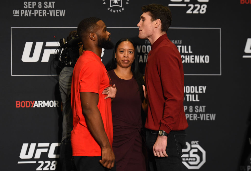 UFC 228 weigh-in UK time and how to watch it as Darren Till and Tyron Woodley hit the scales