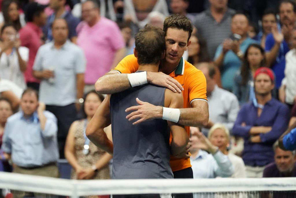 Juan Martin del Potro shows true class after Rafael Nadal is forced to retire in US Open semi-final