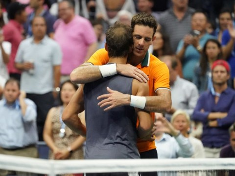Juan Martin del Potro shows true class after Rafael Nadal is forced to retire in US Open semi-final