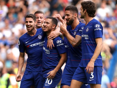'The best in Europe' – Maurizio Sarri reacts to Eden Hazard masterclass v Cardiff City