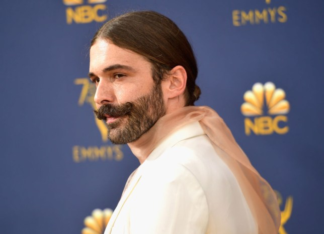 Jonathan Van Ness at the 2019 Emmys