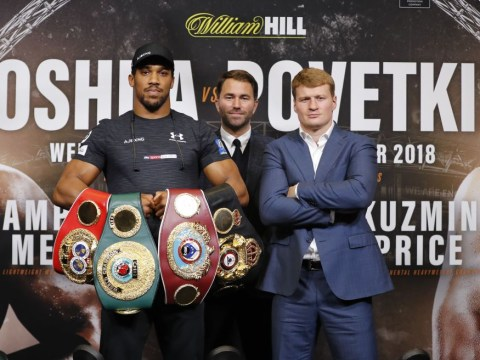 What time is Anthony Joshua vs Alexander Povetkin? TV channel, how to order and undercard
