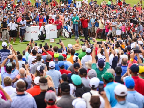 Why golf fans shout 'mashed potato', 'cheeseburger', 'get in the hole' and other absolute rubbish