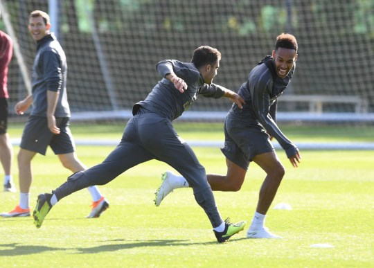 33188b554c0 Sokratis spoke to Pierre-Emerick Aubameyang before joining Arsenal  (Picture  Getty)