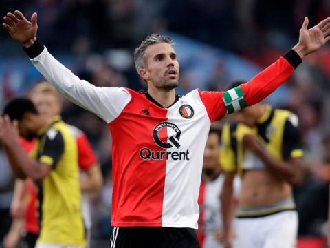 Robin van Persie rolls back the years with stunning goal and reckless red card