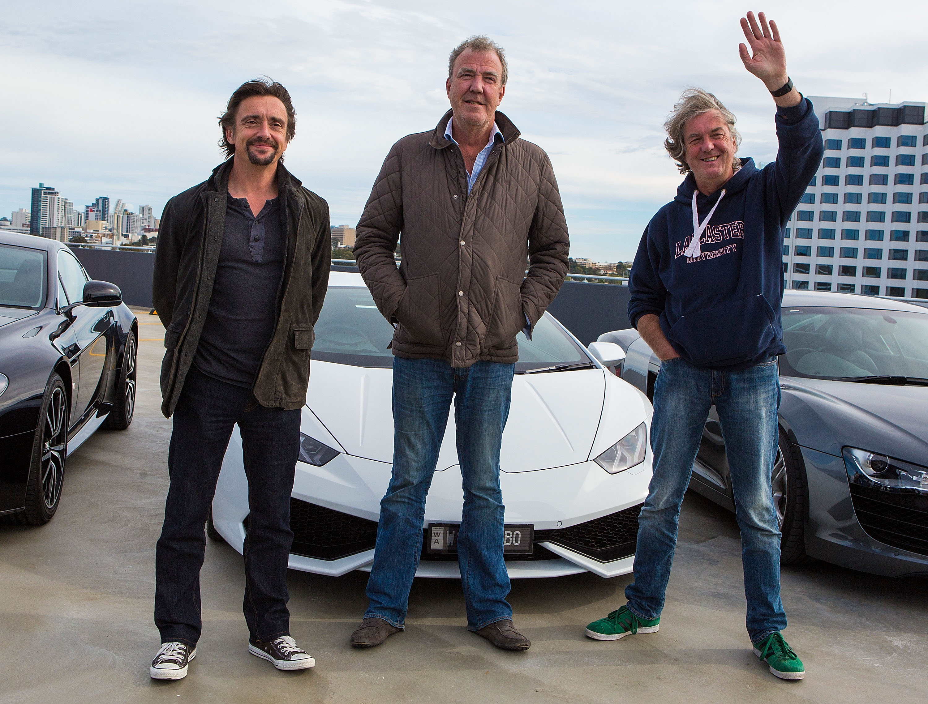 The Grand Tour season 3 trailer: Richard Hammond narrowly escapes death and Jeremy Clarkson paints penises in the show – the boys are back