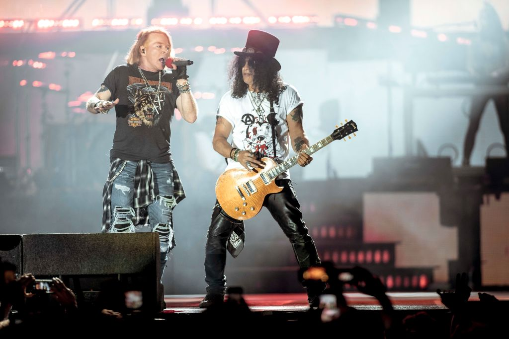 Slash admits Guns N' Roses reunion was 'overwhelming' as he opens up about bond with Axl Rose and Duff McKagan