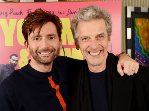 Time Lords team up as Doctor Who stars David Tennant and Peter Capaldi reunite