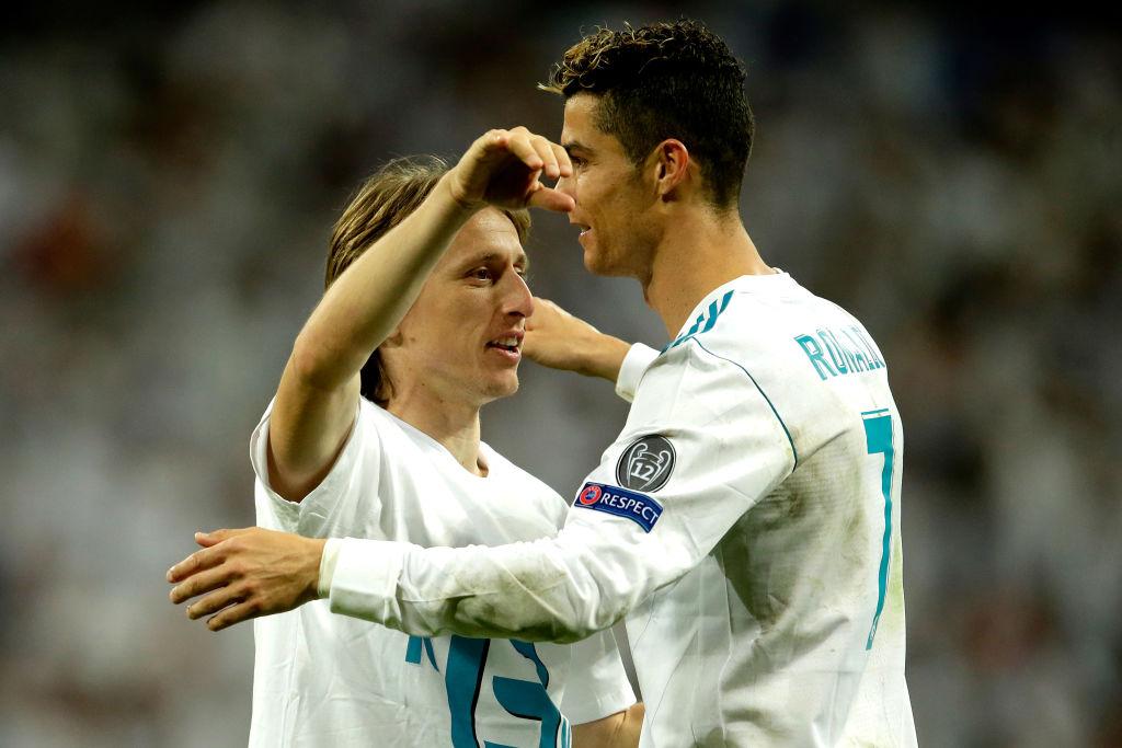 Luka Modric reveals Cristiano Ronaldo congratulated him after winning UEFA Player of the Year award