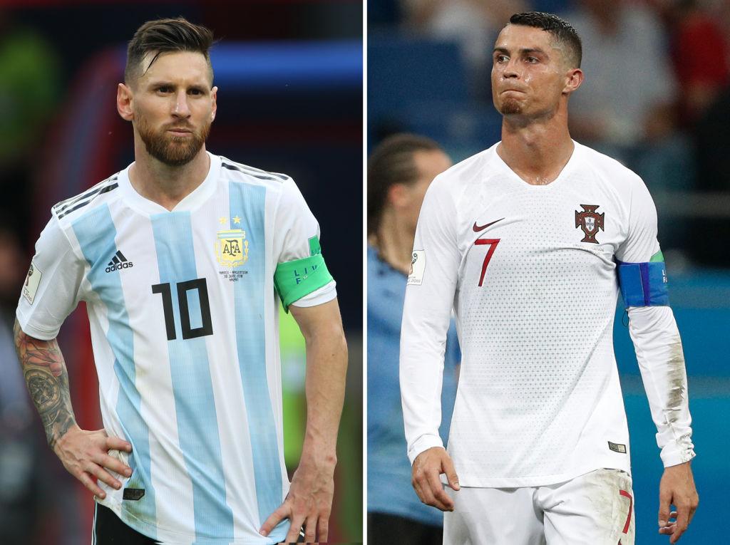 Cristiano Ronaldo and Lionel Messi slammed over Fifa awards no-show