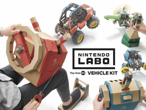 Nintendo Labo Toy-Con 03: Vehicle Kit review – building control