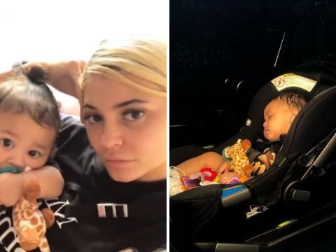 Kylie Jenner makes daughter Stormi Webster 'mad' and it's cuteness overload