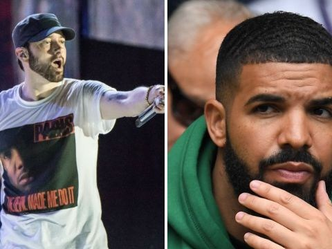 No, Eminem was not throwing shade at Drake in 'diss track' on Kamikaze
