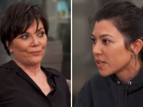 Kourtney Kardashian blasts Kris Jenner over affair as tense family feud rumbles on