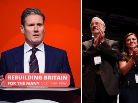 Keir Starmer gets huge standing ovation for saying 'nobody is ruling out remaining in EU'