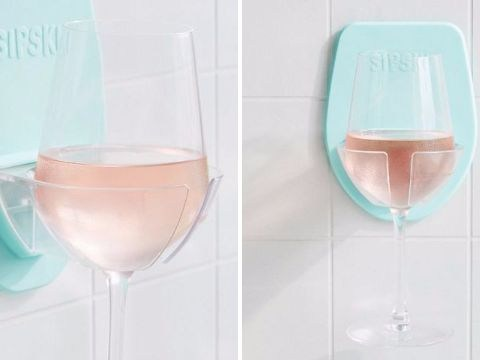 Urban Outfitters' new glass holder lets you sip wine in the shower