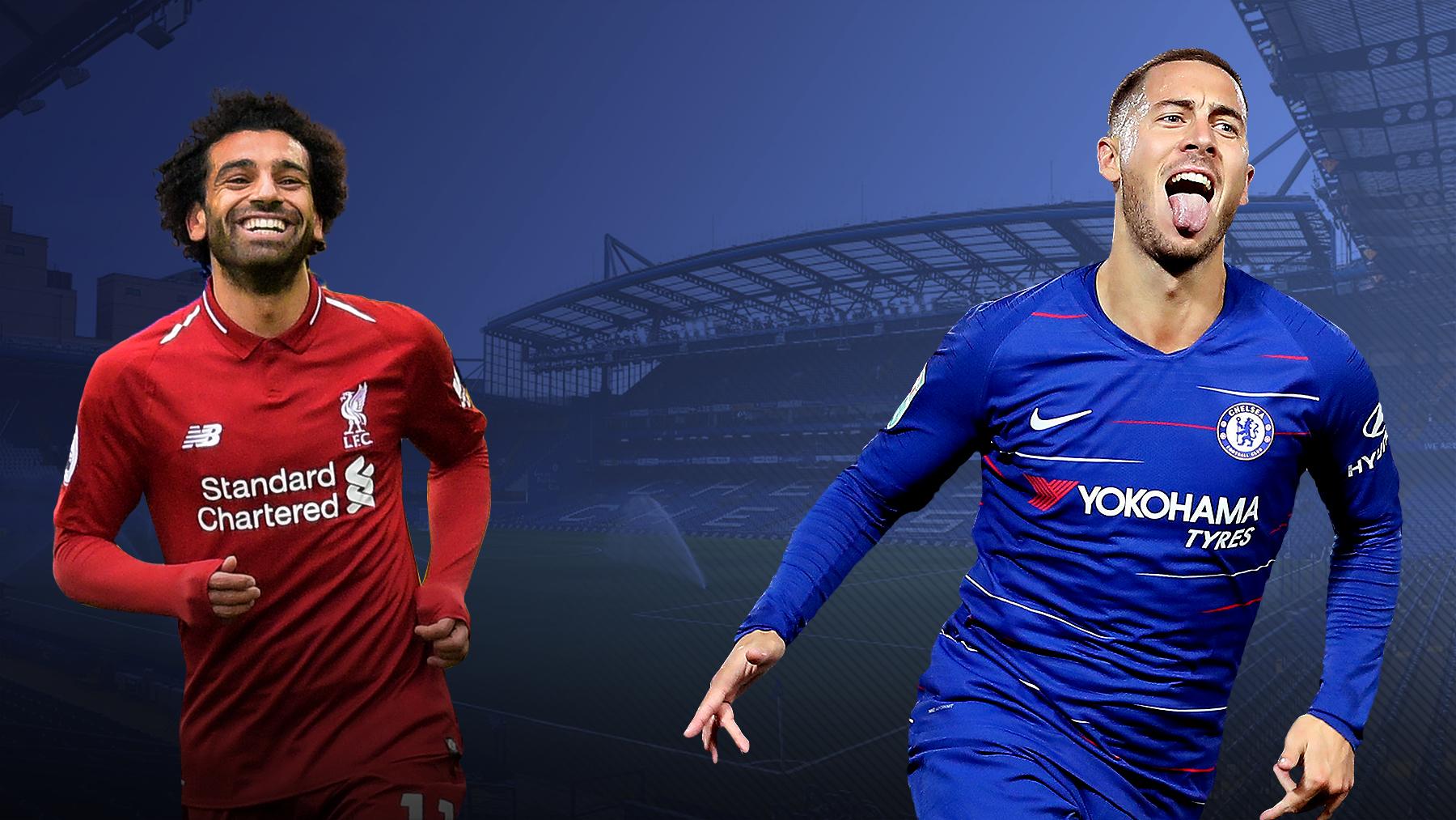 Can Eden Hazard prove Maurizio Sarri right and emulate Mohamed Salah's goalscoring exploits?