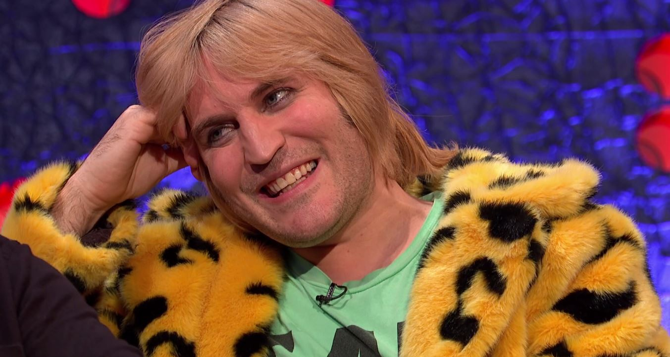 Noel Fielding praises 'beautiful' baby girl and thanks rave days for training him to be a dad