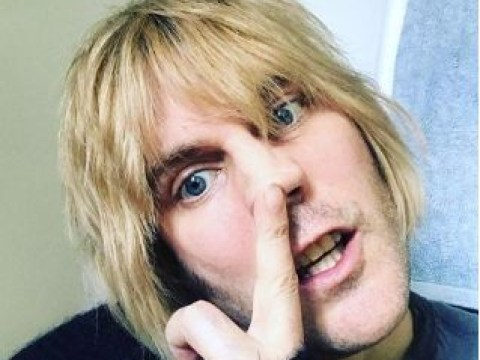Noel Fielding draws comparison to Rod Stewart as he ditches Elvis quiff for blonde bob
