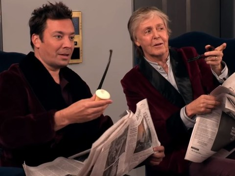Sir Paul McCartney and Jimmy Fallon give fans surprise of their lives with hilarious elevator prank