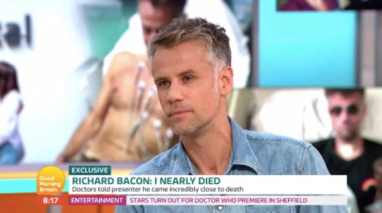 Richard Bacon on GMB