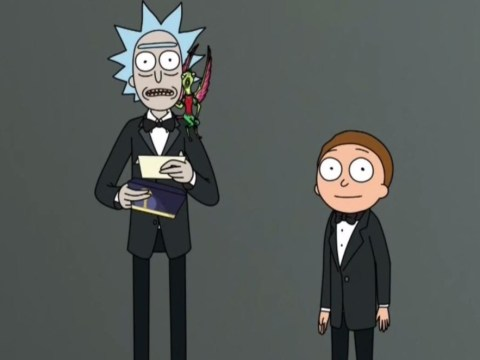 Rick and Morty make surprise appearance at Emmys 2018 to give award to RuPaul's Drag Race