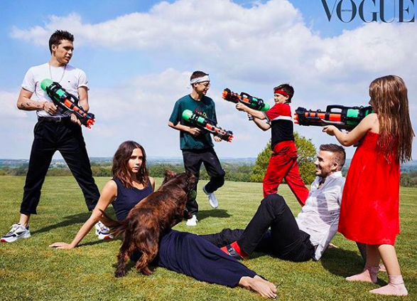 British Vogue Victoria Beckham