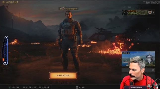 Dr DisRespect without his wig